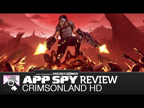 Crimsonland HD   iOS iPhone / iPad Gameplay Review - AppSpy.com