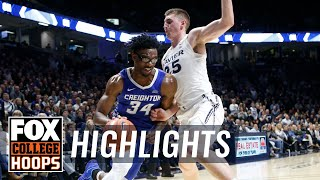 Greg McDermott earns 500th career win as Creighton defeats Xavier | FOX COLLEGE HOOPS HIGHLIGHTS