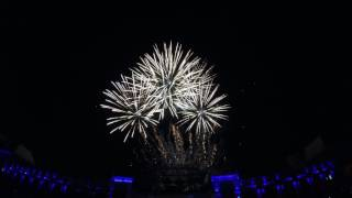 *4K* Phantasialand 2017 Celebration Days Feuerwerk 05.08.2017