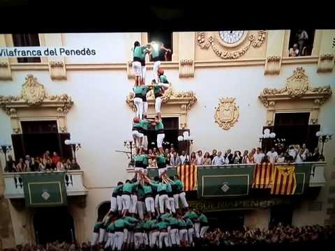 Festa de sant FELIX A Vilafranca del panades (  DIADA CASTELLERA )