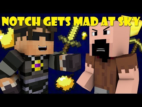 If Notch Was Mad At SkyDoesMinecraft Minecraft