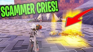 FORTNITE Scammer Gets Scammed *MUST WATCH*