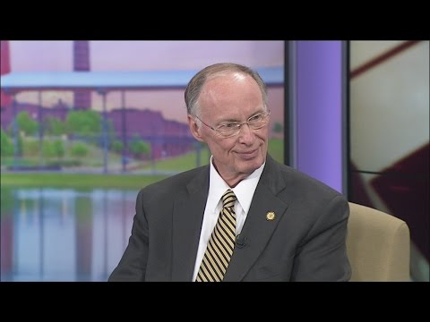 Web Extra: Governor Robert Bentley speaks with Sherri Jackson