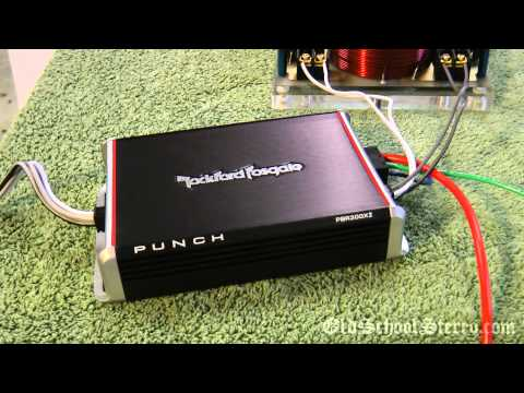 Rockford Fosgate PBR300x2 300 Watt Mini Amp for Car. Harley. ATV. Scooter