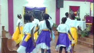 Pentecostal City Mission Church Cheesefield YPG Dance Ministry - You Make Me Stronger