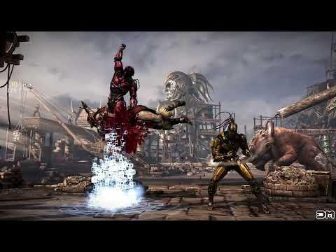 Mortal Kombat XL All Triborg Brutalities & Secret/Hidden Brutalities