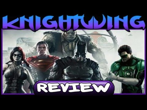 Kwing Game Reviews - Injustice Gods Among Us Review!