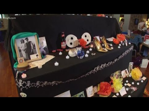 Watching video Día de los Muertos comes to Seattle's MOHAI - KING 5 Evening