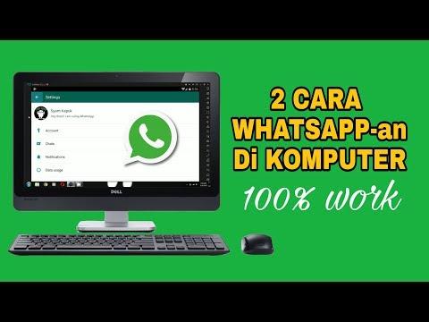 2 Cara Menggunakan Whatsapp Di Komputer