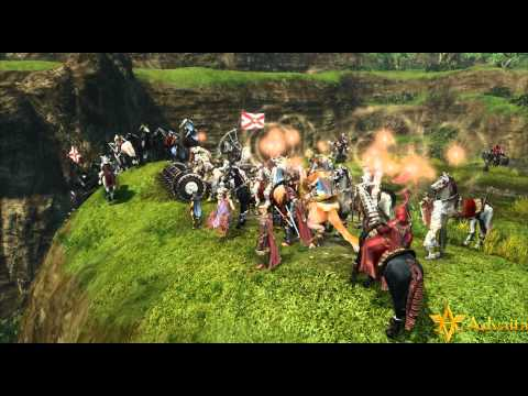 ArcheAge - Mass PvP and Gliding