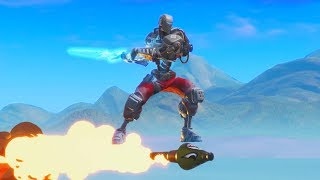 Rocket Riding with the INFINITY SWORD in Fortnite Battle Royale!