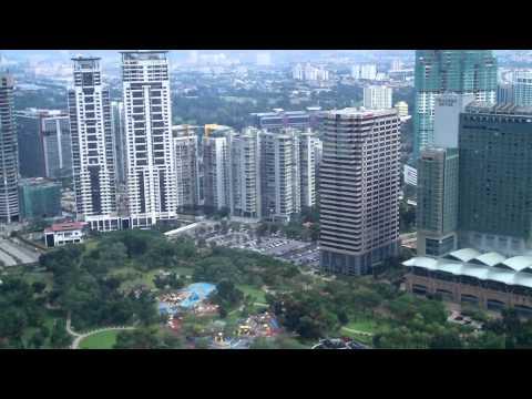 (10) View from Bridge of Petronas Towers