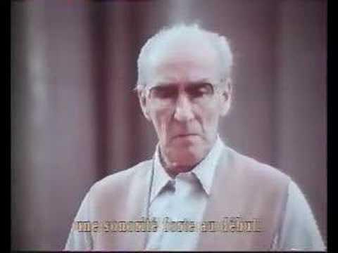 Mravinsky en répétition