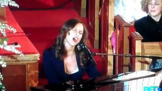 "Alicia Keys - ""Send Me An Angel"" - Whitney Houston Funeral"