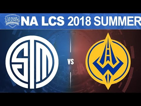TSM vs GGS - NA LCS 2018 Summer Split W7D1 - Team SoloMid vs Golden Guardians