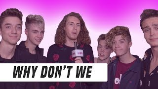 Why Don't We | Band Talks Hearing Themselves on the Radio