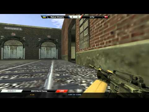 Na`Vi vs  mTw de_train @ IEM World Championship Season V Semi-final