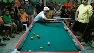 Baianinho de Mauá vs Lorin de Fortaleza, 4x4 na SINUCA em Nova Olinda-CE, VÍDEO 03