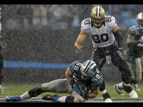 Luke Keuchly's 24 tackles compilation vs Saints