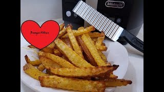 CRINKLE FRIES HOME MADE AIR FRYER