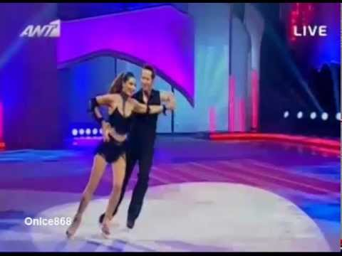 Stamatina Tsimtsili (3o Live) - Dancing On Ice Greece