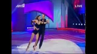 Stamatina Tsimtsili (3o Live) - Dancing On Ice Greece