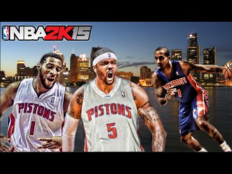 NBA 2K15 Detroit Pistons My League Mode Ep.18   The New Gameplan   Xbox One