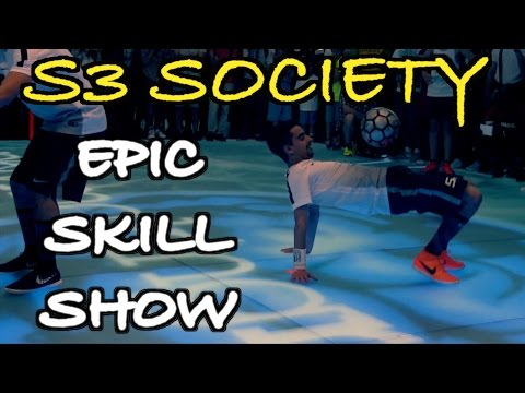 EPIC Football Freestyle Skill Show by S3 Society | #NikeFootballX Event Berlin | by 10BRA