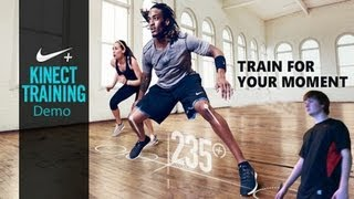 Nike + Kinect Training Demo