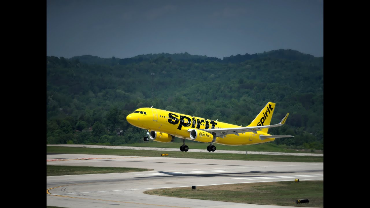 Spirit Airlines Airbus A320 Spirit Airlines Yellow A320