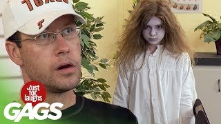 The Scariest Prank Ever - Just For Laughs Gags