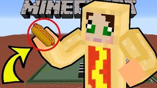 Minecraft: OMG WHAT AM I?!? (HOT DOGS, NYAN CAT, & MORE!) Mod Showcase