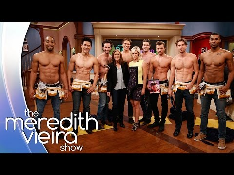 Jennie Garth Has Some Fun with Our 'Handy Men!' | The Meredith Vieira Show
