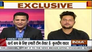 Will work harder for India in World Cup: Kuldeep Yadav