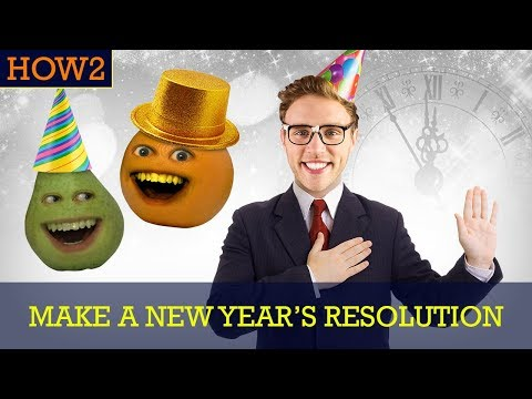 HOW2: How to Make a New Year's Resolution