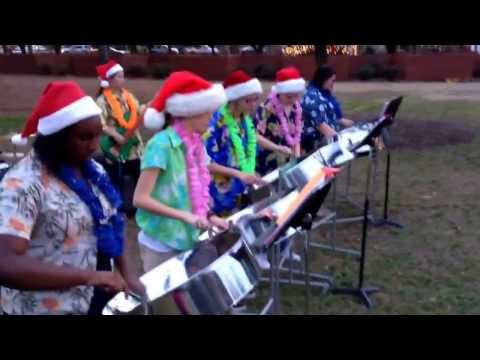 New Hanover High School Band - City of Wilmington Christmas Tree Lighting - December 5, 2013
