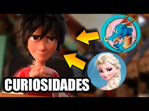 Curiosidades de Big Hero 6 Pelicula / Fun Facts Big Hero 6 Movie