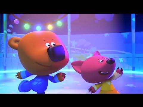Ми-ми-мишки - Новые мультики 2017! Мишки на льду - Зимняя серия