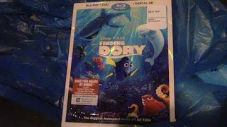 Finding Dory Blu-Ray/DVD Combo Review/Unboxing (HD)