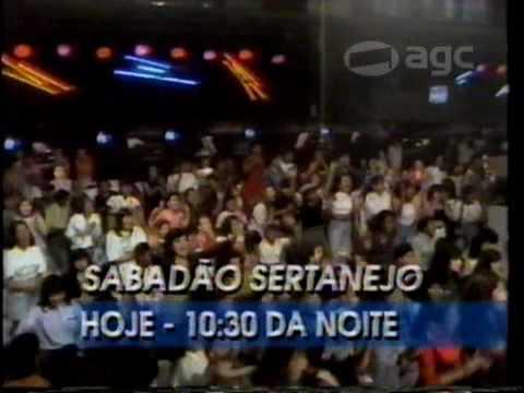 Chamada Sabadão Sertanejo - 1993