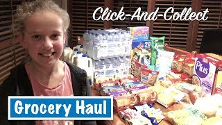 Click-And-Collect Grocery HAUL | Australian Family Vlog