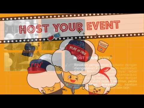 CGV Indonesia Commercial - Host Your Event at CGV [HD Quality]
