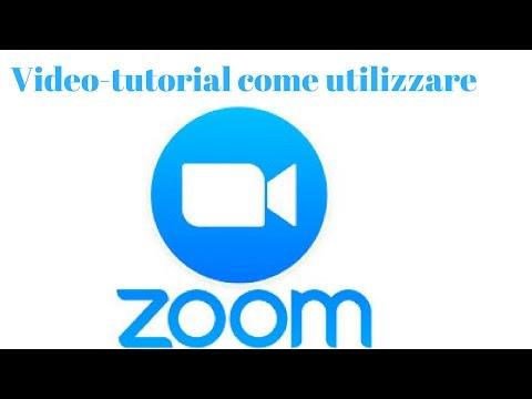 Tutorial come scaricare e utilizzare Zoom Meeting Italiano