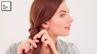 How-to Fishtail Braid Hair Tutorial