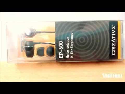 Creative EP-600  |  Budget Earphone  |  Full Review After Using a Month