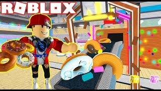 ROBLOX   Xây Dựng Nhà Máy Sản Xuất Bánh Donut Siêu Ngon Siêu Rẻ   Donut Factory Tycoon   Vamy Trần