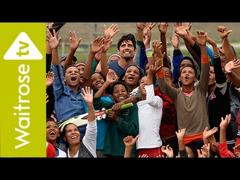 Alastair Cook Visits Waitrose Foundation Projects in South Africa | Waitrose