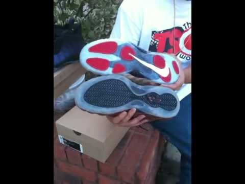 2010 Nike Air Foamposite Pro Pearls Shoe Review/On Feet with Copper and Eggplant Comparison