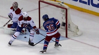 Zuccarello banks one in off Price to give Rangers lead