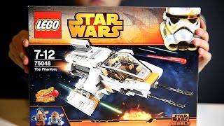 Lego Star Wars - The Phantom. Lego Set: 75048​​​